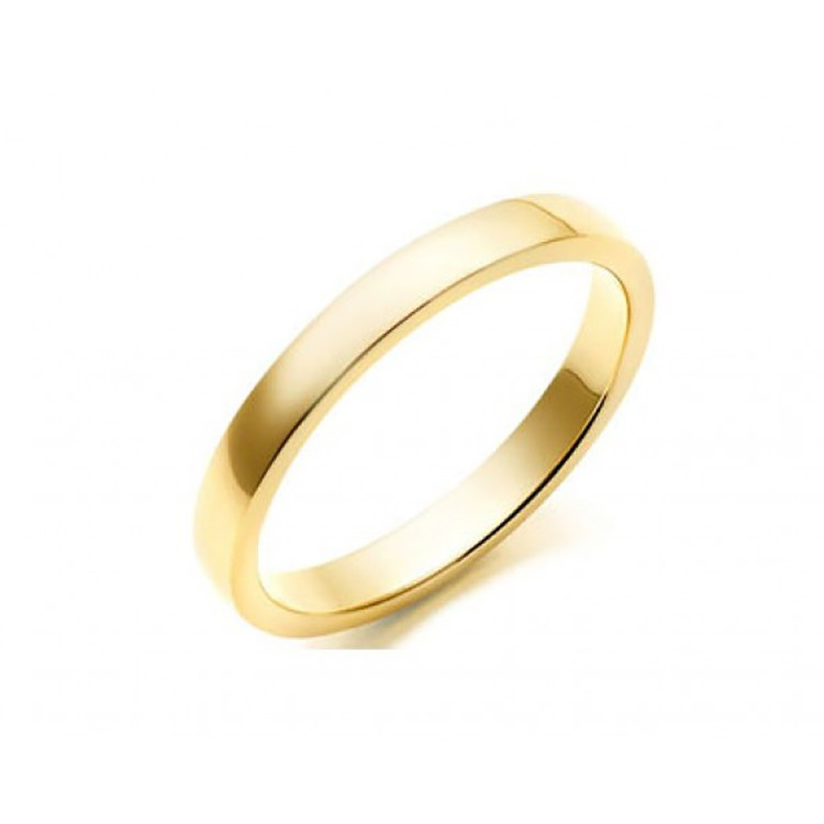 Alianza Matrimonio Oro Amarillo Plana 2mm C1