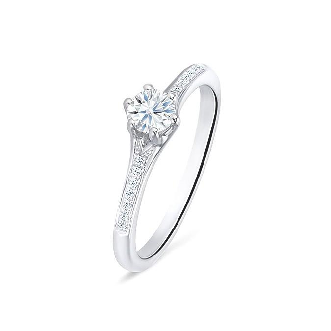 """Anillo """"SidneyCity"""" oro blanco y diamantes"""