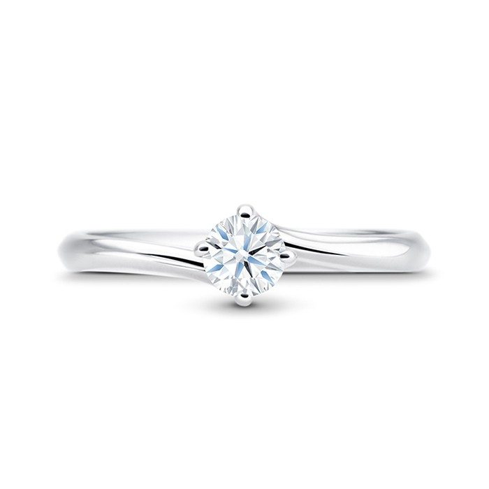 Anillo Arba Platino Diamantes SR 11 PT