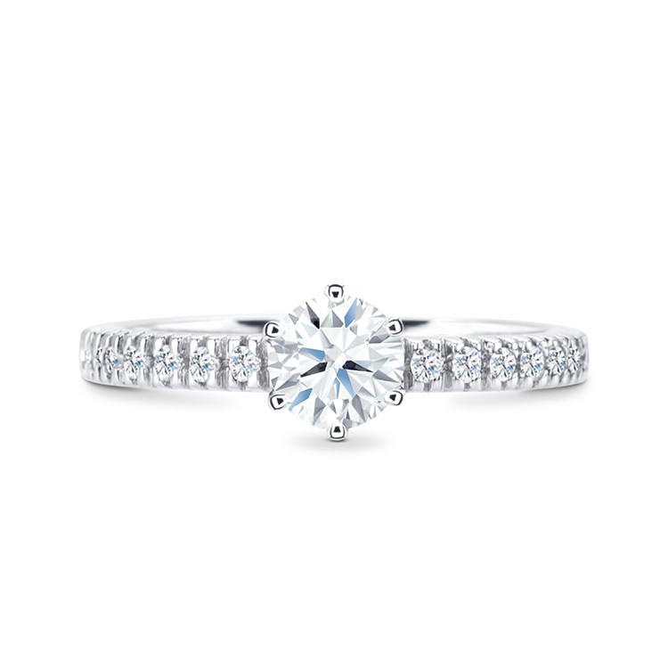 anillo compromiso brillante central Jaipur sk2