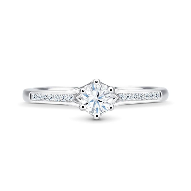 Anillo Diamante Oro Sydney - SR 6