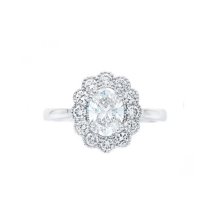 Anillo Diamante Oval OSAKA -SRC 5