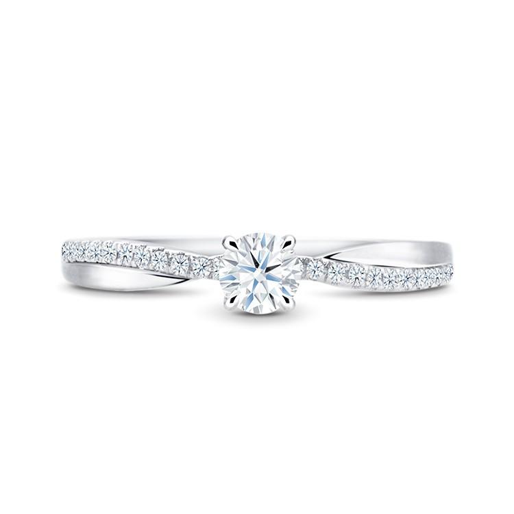 anillo de oro blanco diamante NASHIRA SR 63