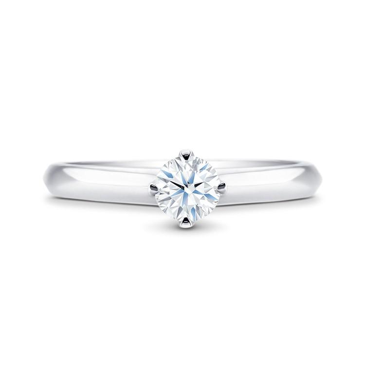 anillo diamante oro blanco ROMA - SKS 3BIS