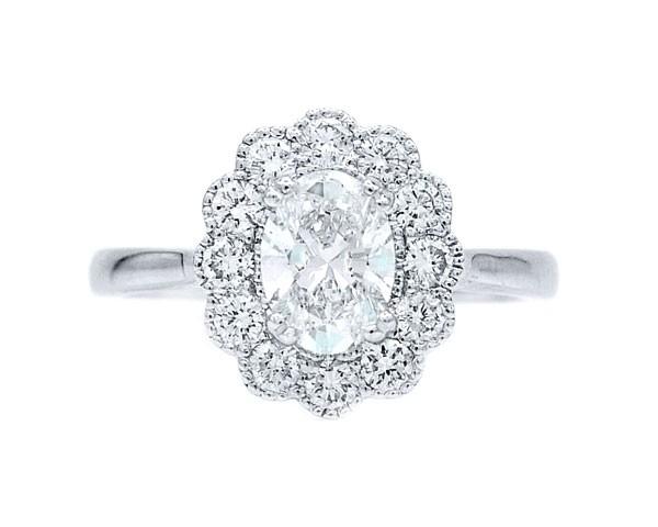 Anillo Diamante Oval OSAKA - SRC 5/2