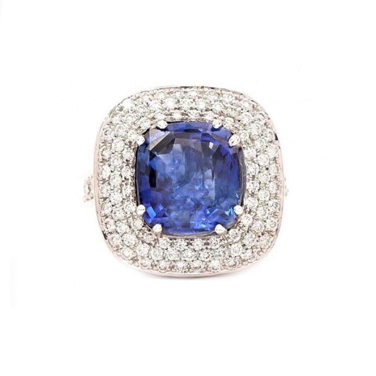 Anillo Zafiro BLUE Purity - SC 76