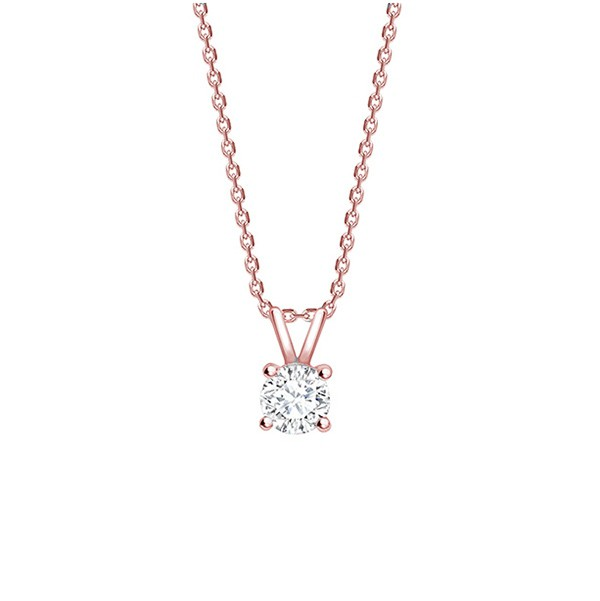 """Colgante Cuatro garras Diamante """"Victoire"""" Oro rosa - CR 11 OR"""