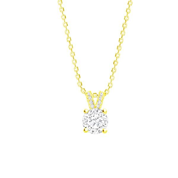 """Colgante en Oro 18K con Diamantes """"Gold Eiffel"""" - CR 16 OA"""