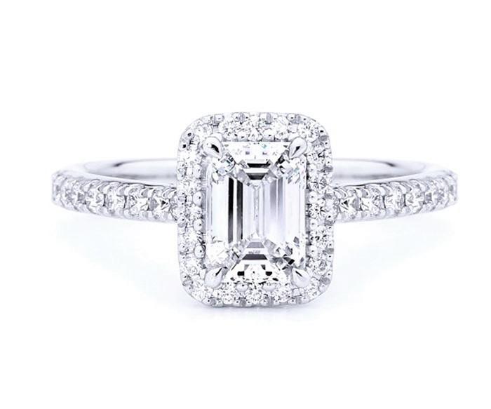 Anillo Diamante Emerald - SCE 22