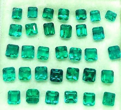 Esmeralda talla cuadrada de 2,5 mm - PA 5,07