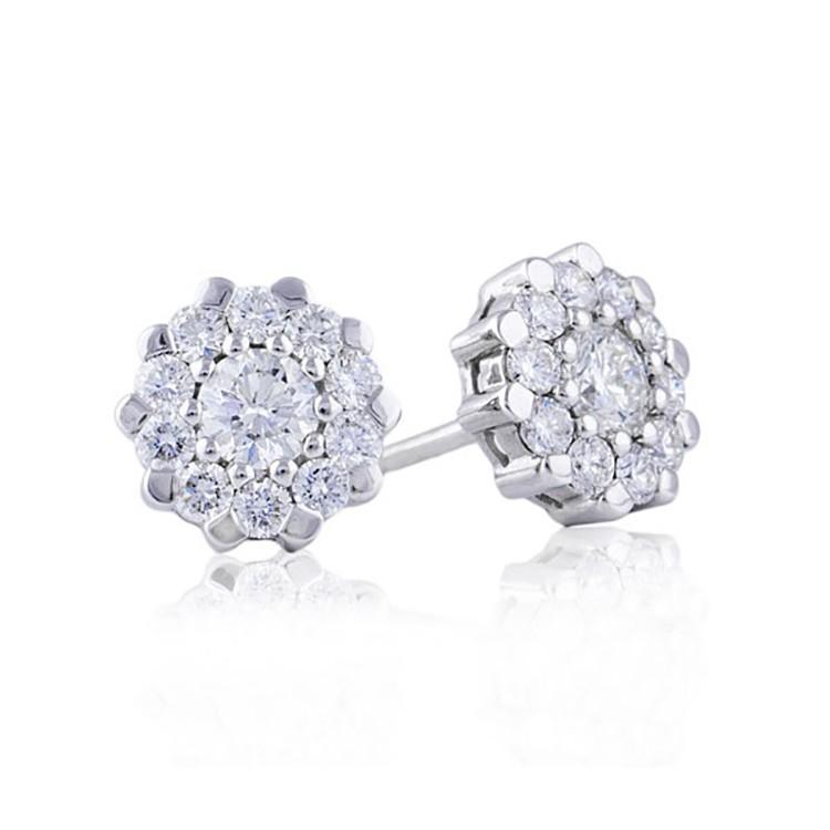 Pendientes Diamantes orla - PG 25/3