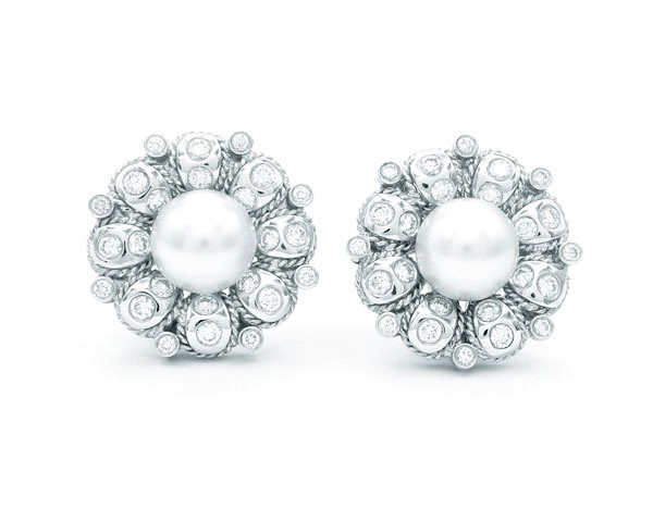 Pendientes Perlas brillantes - PC 15