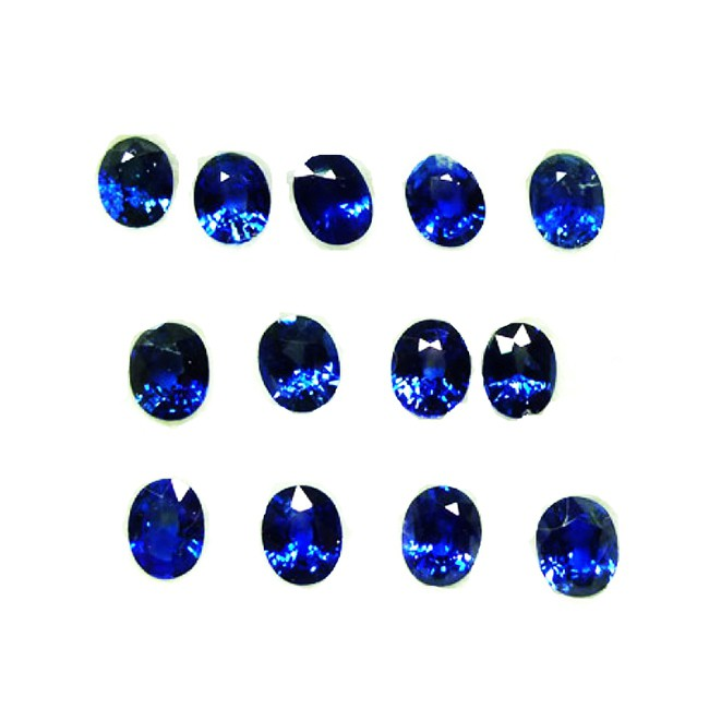 Zafiro Oval de 5 x 4 mm - Ref L3