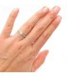 anillo  mano pedida clásico LISBOA