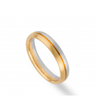 anillo boda bicolor