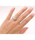 anillo de diamantes baguette grandes