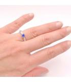 anillos de zafiro HIGASHI mano