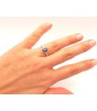 anillos compromiso zafiro