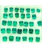 lote de esmeraldas cuadradas