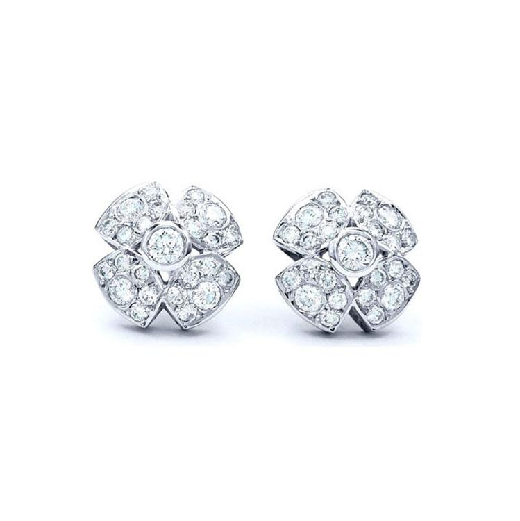 """Pendientes Cuajados de Diamantes """"Honey"""" - PM 39"""