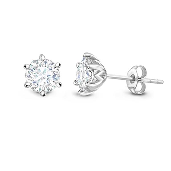"""Pendientes 6 garras Diamantes """" ILUSIÓN """" PR 10"""