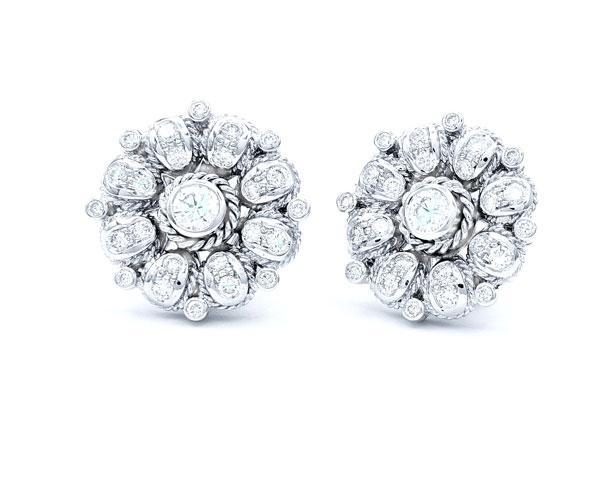 Pendientes de Diamante Daisy - PC 17