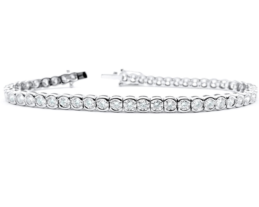 """Pulsera """"Concept"""" oro blanco y diamantes 5.60 cts"""