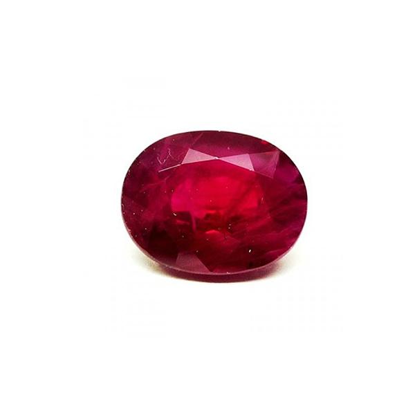 Rubi talla oval- ref 3030 - 2,67 cts