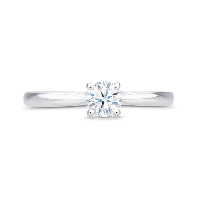 Sortija Diamante Oro Blanco HARMONY - SR 10