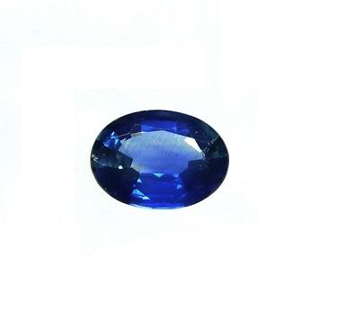 Zafiro azul talla oval - Ref 380 - 1,30