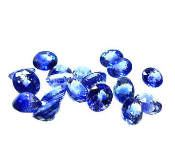 Zafiros ovalados - Ref E 99