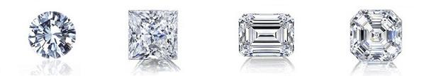formas de los diamantes