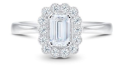 Colección Compromiso Anillo de Diamante