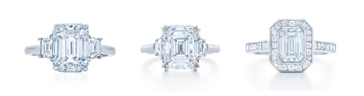 anillos de diamantes oro blanco