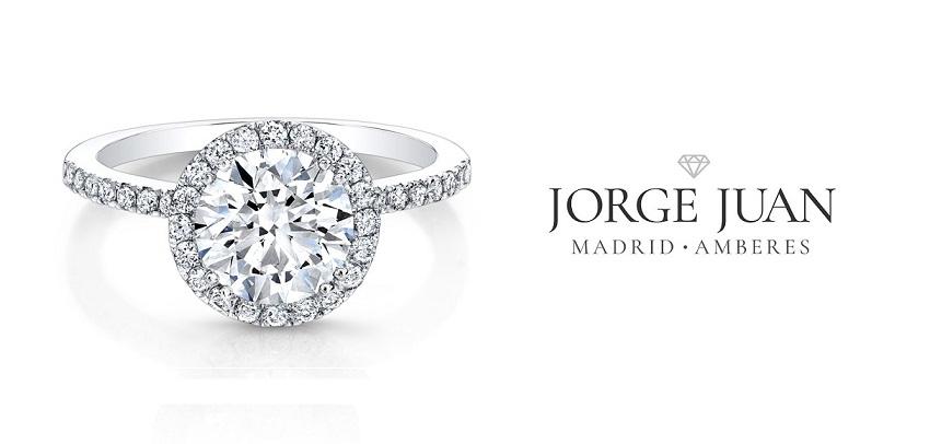 anillos de oro blanco 18 quilates de Jorge Juan Joyeros