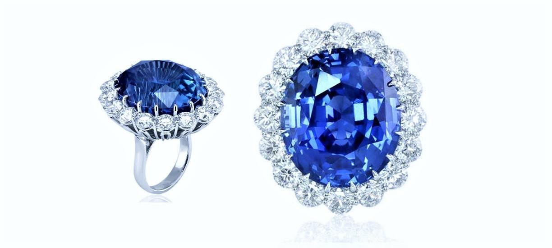 anillos de zafiros