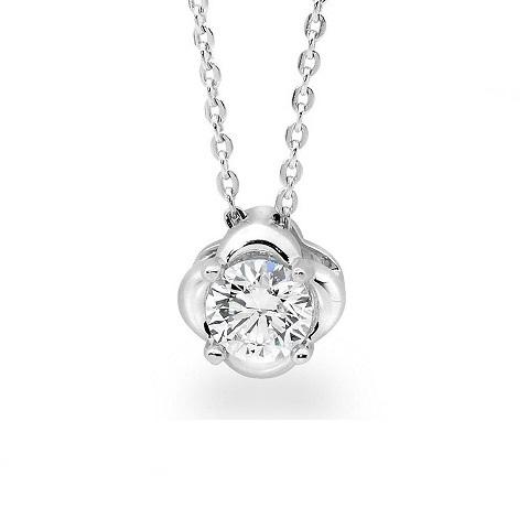 colgantes de diamantes