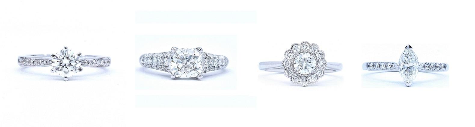 diseños de anillos de compromiso
