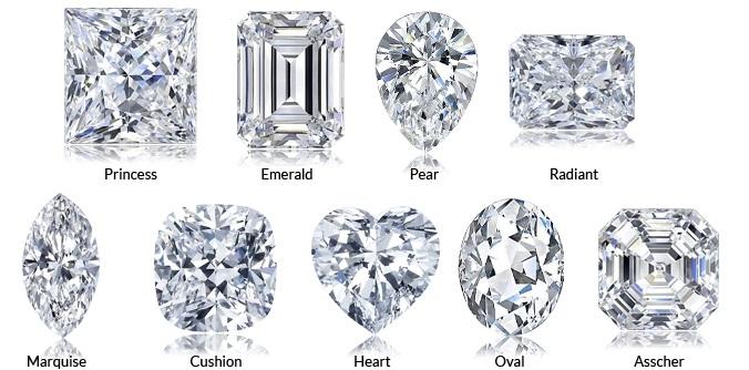forma del diamante