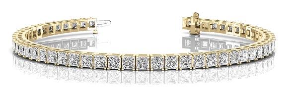 Pulseras de Diamantes y oro