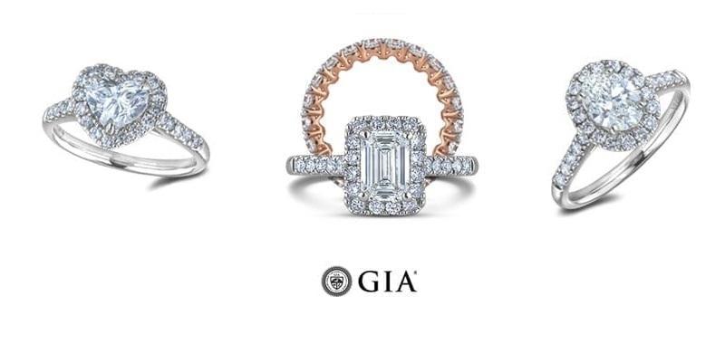anillos de diamantes, tipos y diseños
