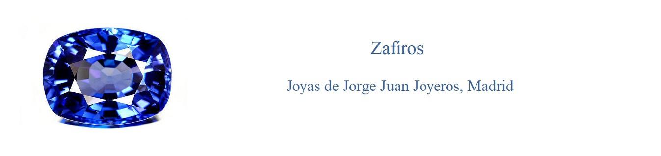 Zafiros - Jorge Juan Joyeros